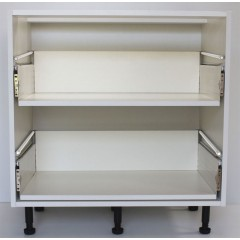900mm 2 Drawer Base