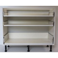 900mm 3 Drawer Base