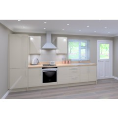 Single Galley Kitchen Package  - Classic Colour - Cream Door