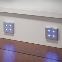 Square (4 LED Diode) Plinth Light Set