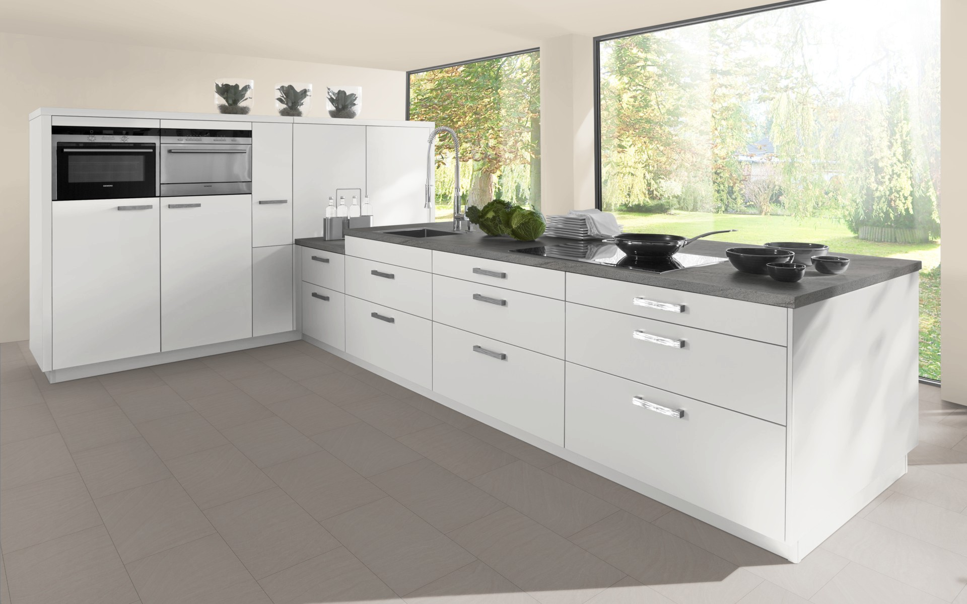 High gloss hi line base door trade kitchens for all for Kitchen cabinets 700mm